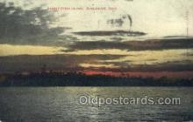 shi075635 - Sunset Otter Island Steamer, Steam Boat, Steamboat, Ship, Ships, Postcard Post Cards