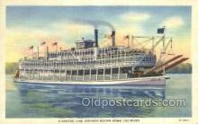 shi075639 - Green Line Steamer Steamer, Steam Boat, Steamboat, Ship, Ships, Postcard Post Cards