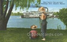shi075640 - Mark Twains Tom And Huck Steamer, Steam Boat, Steamboat, Ship, Ships, Postcard Post Cards