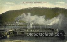 shi075649 - The Greyhound, Portsmouth, Ohio, USA Steamer, Steam Boat, Steamboat, Ship, Ships, Postcard Post Cards