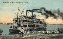 shi075651 - GW Hill Steamer, Steam Boat, Steamboat, Ship, Ships, Postcard Post Cards
