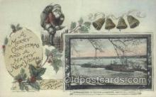 shi075661 - Steamboats In Winter Santa Claus, Steamer, Steam Boat, Steamboat, Ship, Ships, Postcard Post Cards