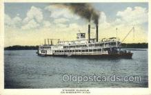 shi075670 - Dubuque Steamer, Steam Boat, Steamboat, Ship, Ships, Postcard Post Cards