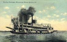 shi075671 - Dubuque Steamer, Steam Boat, Steamboat, Ship, Ships, Postcard Post Cards