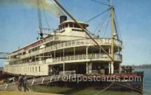 shi075674 - Delta Queen Steamer, Steam Boat, Steamboat, Ship, Ships, Postcard Post Cards