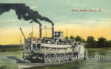 shi075680 - David Swain, Henry, Illinois, Ill, USA Steamer, Steam Boat, Steamboat, Ship, Ships, Postcard Post Cards