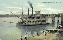 shi075682 - David Swain, Peoria, Illinois, Ill, USA Steamer, Steam Boat, Steamboat, Ship, Ships, Postcard Post Cards