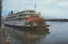 shi075685 - Delta Queen Steamer, Steam Boat, Steamboat, Ship, Ships, Postcard Post Cards