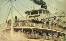 shi075687 - Delta Queen Steamer, Steam Boat, Steamboat, Ship, Ships, Postcard Post Cards