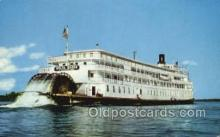 shi075691 - Delta Queen Steamer, Steam Boat, Steamboat, Ship, Ships, Postcard Post Cards