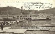 shi075701 - Scene At Coney Island Steamer, Steam Boat, Steamboat, Ship, Ships, Postcard Post Cards