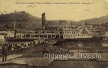 shi075703 - Island Queen Steamer, Steam Boat, Steamboat, Ship, Ships, Postcard Post Cards