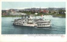 shi075704 - Island Queen Steamer, Steam Boat, Steamboat, Ship, Ships, Postcard Post Cards