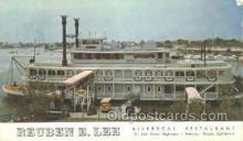 shi075711 - Reuben E Lee Steamer, Steam Boat, Steamboat, Ship, Ships, Postcard Post Cards