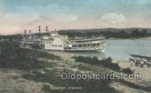 shi075715 - Indiana Steamer, Steam Boat, Steamboat, Ship, Ships, Postcard Post Cards