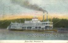 shi075723 - The Helen Blair Steamer, Steam Boat, Steamboat, Ship, Ships, Postcard Post Cards