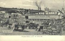 shi075741 - Shipping Scene Levee Ferry Boat, Ferries, Ship, Ships, Postcard Post Cards