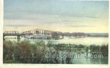 shi075748 - Sante Fe Bridge Ferry Boat, Ferries, Ship, Ships, Postcard Post Cards