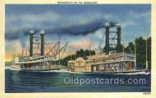 shi075749 - Belle Of Acrosse Ferry Boat, Ferries, Ship, Ships, Postcard Post Cards