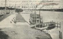 shi075762 - Water Works Park Ferry Boat, Ferries, Ship, Ships, Postcard Post Cards