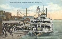 shi075770 - Excursion Steamer Ferry Boat, Ferries, Ship, Ships, Postcard Post Cards