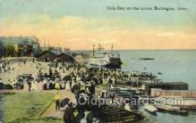 shi075774 - Gala Day On The Levee Ferry Boat, Ferries, Ship, Ships, Postcard Post Cards