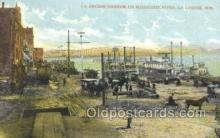 shi075778 - La Crosse Harbor Ferry Boat, Ferries, Ship, Ships, Postcard Post Cards