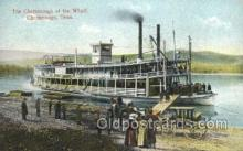 shi075787 - Chattanooga, Tenn, USA Ferry Boat, Ferries, Ship, Ships, Postcard Post Cards