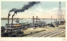 shi075795 - River View kansas City Ferry Boat, Ferries, Ship, Ships, Postcard Post Cards