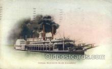 shi075804 - Mississippi River Steamer Ferry Boat, Ferries, Ship, Ships, Postcard Post Cards