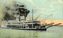 shi075807 - Mississippi River Steamer Ferry Boat, Ferries, Ship, Ships, Postcard Post Cards