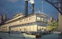 shi075821 - Showboat Sari S Ferry Boat, Ferries, Ship, Ships, Postcard Post Cards