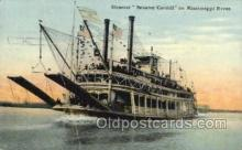 shi075822 - Steamer Senator Cordill Ferry Boat, Ferries, Ship, Ships, Postcard Post Cards