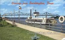 shi075827 - Macarthur Bridge And Excursion Boat Ferry Boats, Ferries, Steamer, Steam Boat, Steamboat, Ship, Ships, Postcard Post Cards