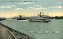 shi075828 - GW Hill Ferry Boats, Ferries, Steamer, Steam Boat, Steamboat, Ship, Ships, Postcard Post Cards