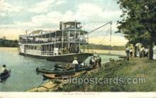 shi075829 - Rock River Ferry Boats, Ferries, Steamer, Steam Boat, Steamboat, Ship, Ships, Postcard Post Cards