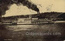 shi075833 - Mail Boat Cincinnati Ferry Boats, Ferries, Steamer, Steam Boat, Steamboat, Ship, Ships, Postcard Post Cards