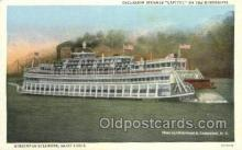 shi075836 - Streckfus Saint Louis Ferry Boats, Ferries, Steamer, Steam Boat, Steamboat, Ship, Ships, Postcard Post Cards