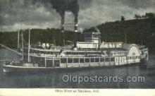 shi075839 - Cincinnati Ferry Boats, Ferries, Steamer, Steam Boat, Steamboat, Ship, Ships, Postcard Post Cards