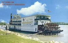 shi075840 - City of Clinton Showboat Ferry Boats, Ferries, Steamer, Steam Boat, Steamboat, Ship, Ships, Postcard Post Cards
