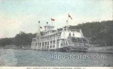 shi075842 - State Ep League Boat Landing Ferry Boats, Ferries, Steamer, Steam Boat, Steamboat, Ship, Ships, Postcard Post Cards