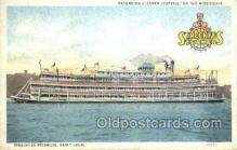 shi075848 - Capitol Ferry Boats, Ferries, Steamer, Steam Boat, Steamboat, Ship, Ships, Postcard Post Cards