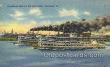 shi075855 - America Ferry Boats, Ferries, Steamer, Steam Boat, Steamboat, Ship, Ships, Postcard Post Cards