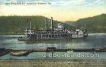 shi075865 - STR America Ferry Boats, Ferries, Steamer, Steam Boat, Steamboat, Ship, Ships, Postcard Post Cards