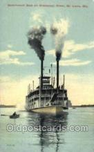 shi075876 - Government Boat On The Mississippi Ferry Boats, Ferries, Steamer, Steam Boat, Steamboat, Ship, Ships, Postcard Post Cards