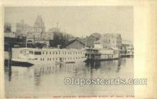 shi075879 - Boat Landing Mississippi River Ferry Boats, Ferries, Steamer, Steam Boat, Steamboat, Ship, Ships, Postcard Post Cards
