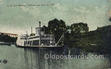 shi075882 - US Gen BranhardGalena Levee, June 22, 1899 Ferry Boats, Ferries, Steamer, Steam Boat, Steamboat, Ship, Ships, Postcard Post Cards