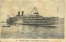 shi075888 - Hendrick Hudson Ferry Boat Postcards Old VIntage Antique Post Card