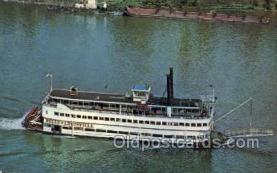 shi075889 - Belle of Louisville Ferry Boat Postcards Old VIntage Antique Post Card