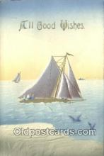 shi100035 - Sail Boat Postcard Post Card
